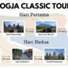 Paket Wisata 2D1N Jogja Classic Tour