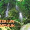 Air Terjun Sri Gethuk Terhanyut Dengan Tenangnya Aliran Sungai