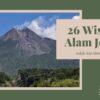 26 Tempat Wisata Alam Jogja Indah dan Menawan
